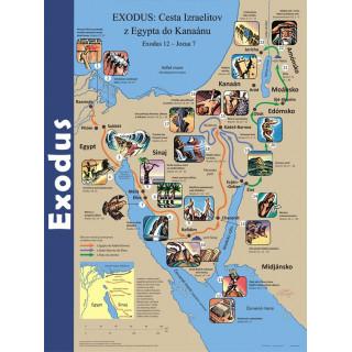 Plagát Exodus (08) s pracovnými listami