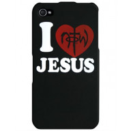 Kryt na iPhone - I love Jesus