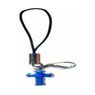 Krížik modrý - prívesok na mobil (PM08)