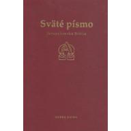 Sväté písmo - Jeruzalemská Biblia - bordová obálka