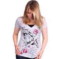 Dámske tričko - Bez obáv - posledný kus, veľkosť L