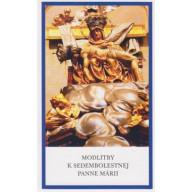 Modlitby k Sedembolestnej Panne Márii