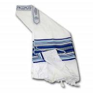 Talit. Modlitebný šál - Vlna, Akryl XI. (IZ145)