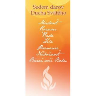 Záložka - Sedem darov Ducha Svätého