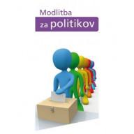 Záložka Z146 - Modlitba za politikov