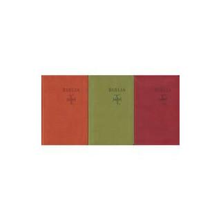 Biblia s mapami / koženka
