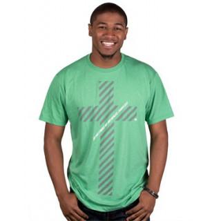Pánske tričko - Kríž Jeho ranami (TP047)