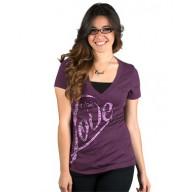 Dámske tričko - Plná lásky (TD061)