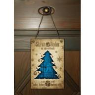 Vianočná tabuľka - Ježiš Kristus - Dar