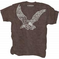 Pánske tričko - Na krídlach orla (TP049)