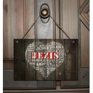 Tabuľka - Srdce Ježiš
