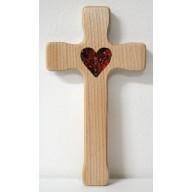 Kríž s jantárovým srdcom, tenší