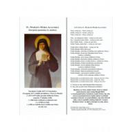 Záložka: Sv. Margita Mária Alacoque