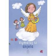 Omaľovanka - Vymaľuj si anjela