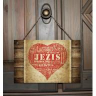 Tabuľka - Srdce Ježiš II