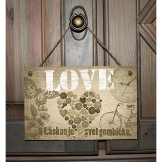 Tabuľka - LOVE