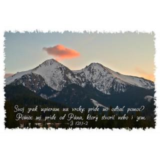 Magnetka - Svoj zrak upieram na vrchy