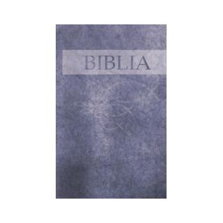 Biblia ECAV m.v. - veľká / 2015 - modrá