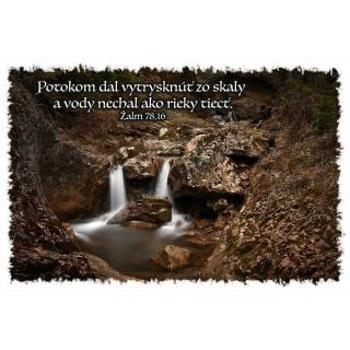 Magnetka - Potokom dal vytrysknúť zo skaly...