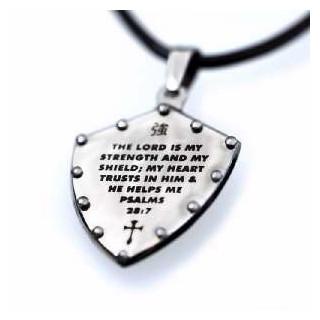 Shield Psalms 28 - náhrdelník (NH121)