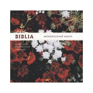 CD - Biblia - Múdroslovné knihy (mp3)