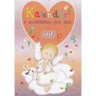 Kalendár s modlitbami pre deti (nástenný) 2017 / ZAEX