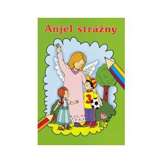 Maľovanka - Anjel strážny / Lúč