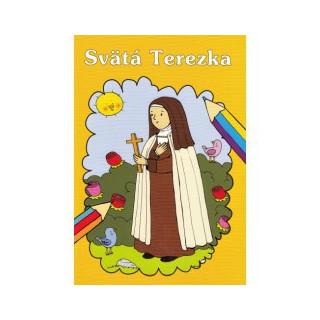 Maľovanka - Svätá Terezka / Lúč