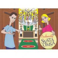 Omaľovánka - Svätá omša