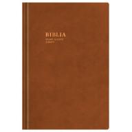BIBLIA Starý a Nový zákon / SSV - koža