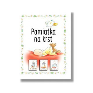 Pamiatka na krst / kolekcia troch knižiek