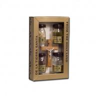 Kríž z olivového dreva plus 4  (IZ214)