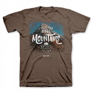 Pánske tričko - Viera hory prenáša (TP056)