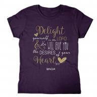 Dámske tričko - Radosť v Pánovi (TD074)