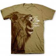Pánske tričko - Lev z kmeňa Júdovho (TP058)