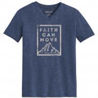 Pánske tričko - Viera hýbe vrchmi (TP060)