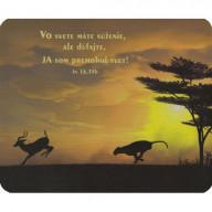 Podložka pod myš: Vo svete máme súženie...