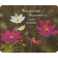 Podložka pod myš: Boh povedal...
