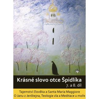 DVD - Krásné slovo otce Špidlíka – 7. a 8. díl
