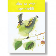 Omaľovánka - Ako sa vtáci spriatelili