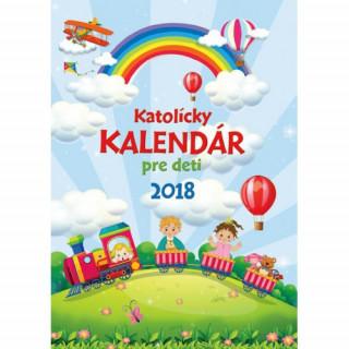 Katolícky kalendár pre deti 2018 (nástenný) / ZAEX