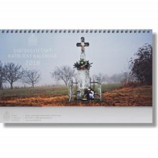 Svätovojtešský katolícky kalendár 2018 (stolový) - týždňový