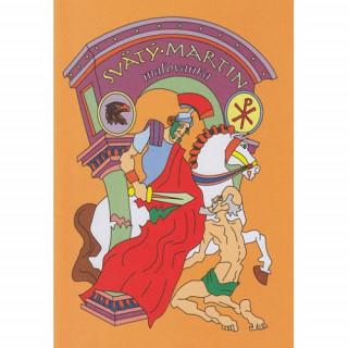 Omaľovánka - Svätý Martin