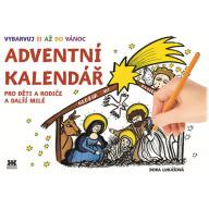 Adventní kalendář - vybarvuj si až do Vánoc