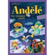 Andělé na vánoční pouti: Adventní kalendář s vystřihovánkami pro děti od tří do osmi let