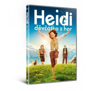 Kniha DVD - Heidi, děvčátko z hor (2016)