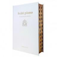 Sväté písmo - Jeruzalemská Biblia - (darčeková) biela obálka