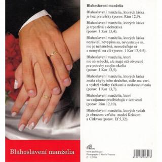 Záložka Z129 Blahoslavení manželia