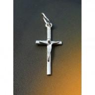 Strieborný krížik - prívesok