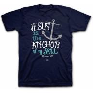 Pánske tričko - Ježiš je kotvou (TP063)